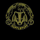 Harry Potter Hufflepuff Badger Badge Men's T-Shirt - Black