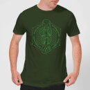 Harry Potter Morsmordre Dark Mark Men's T-Shirt - Forest Green