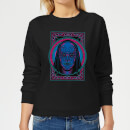 Harry Potter Death Mask Women's Sweatshirt - Black