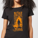 Harry Potter Neither Can Live Women's T-Shirt - Black