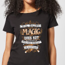Harry Potter Whip Your Wands Out Women's T-Shirt - Black