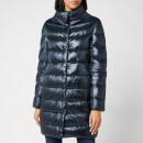 Herno Women's Dora Iconic Long Down Jacket - Navy