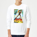 Justice League Aquaman Cover Sweatshirt - White