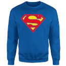 Justice League Supergirl Logo Sweatshirt - Royal Blue