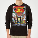 Batman The Dark Knight's Rogues Gallery Cover Sweatshirt - Black