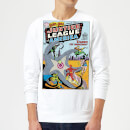 Justice League Starro The Conqueror Cover Sweatshirt - White