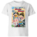 Justice League Wonder Woman Cover Kids' T-Shirt - White