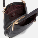 Coach Women's Polished Pebble Leather Dalton 28 Shoulder Bag - Black