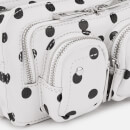 Núnoo Women's Helena Dots Cross Body Bag - White/Black