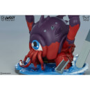 Sideshow Collectibles Unruly Kaiju Series - Designer PVC Statue Crabthulu: Terror of the Deep! 17 cm