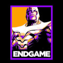 Avengers Endgame Thanos Poster Men's T-Shirt - Black