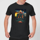 Captain Marvel Movie Starforce Poster Men's T-Shirt - Black