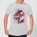 Marvel Avengers AntMan And Wasp Collage Men's T-Shirt - Grey