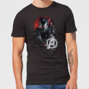 Avengers Endgame War Machine Brushed Men's T-Shirt - Black