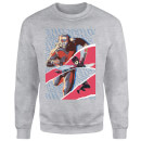 Marvel Avengers AntMan And Wasp Collage Sweatshirt - Grey