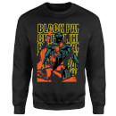 Marvel Avengers Black Panther Collage Sweatshirt - Black