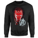 Avengers Endgame Iron Man Brushed Sweatshirt - Black