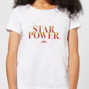 Captain Marvel Star Power Women's T-Shirt - White
