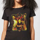 T-shirt Avengers Endgame Distressed Sunburst - Femme - Noir