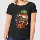 Marvel Incredible Hulk Dead Like Me Women's T-Shirt - Black