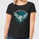 Captain Marvel Starforce Warrior Women's T-Shirt - Black