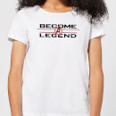 Avengers Endgame Become A Legend Damen T-Shirt - Weiß