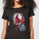 Avengers Endgame Captain Marvel Brushed Women's T-Shirt - Black