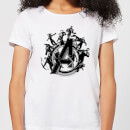 Avengers Endgame Hero Circle Women's T-Shirt - White
