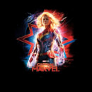 Captain Marvel Poster Women's T-Shirt - Black