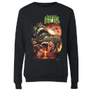 Marvel Incredible Hulk Dead Like Me Women's Sweatshirt - Black