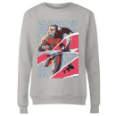 Marvel Avengers AntMan And Wasp Collage Women's Sweatshirt - Grey