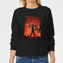 Marvel Universe Wakanda Lightning Women's Sweatshirt - Black