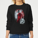 Avengers Endgame Nebula Brushed Women's Sweatshirt - Black