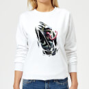 Marvel Venom Inside Me Women's Sweatshirt - White