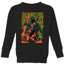 Marvel Avengers Black Panther Collage Kids' Sweatshirt - Black