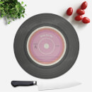 Rest On Me Round Chopping Board