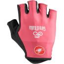 Castelli Giro D'Italia Gloves - Rosa Giro