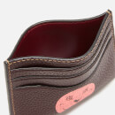 Coach 1941 Women's Rexy by Yeti Out Flat Card Case - Oxblood