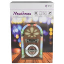 AV: Link Roadhouse Mini Jukebox with Bluetooth, CD Player and FM Radio