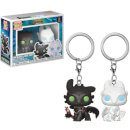 How to Train Your Dragon - The Hidden World Limited Edition Gift Set: Funko Pocket POP! Exclusive Keychains (Blu-ray + 3D Blu-ray + Digital Download)