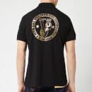 Versace Jeans Men's Back Logo Polo Shirt - Nero