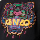 KENZO Men's Classic Tiger Embroidered Sweatshirt - Black