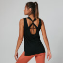 Strap Detail Vest Top - Black