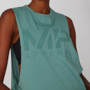 Drop Armhole Logo Vest - Sage Brush - XS
