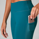 Power Mesh Leggings - Lagoon - XS