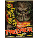 Predator (1987) 'Out For Blood' 18 x 24 Inches Limited Edition Lithograph Print by J.J. Lendl