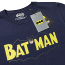 Batman 80th Anniversary 50s Future T-Shirt - Navy