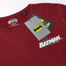 Batman 80th Anniversary '00s League T-Shirt - Burgundy