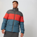 Color Block Puffer Jacket - Diesel - XS
