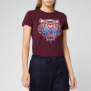 KENZO Women's Classic Tiger Light Cotton Single Jersey T-Shirt - Bordeaux